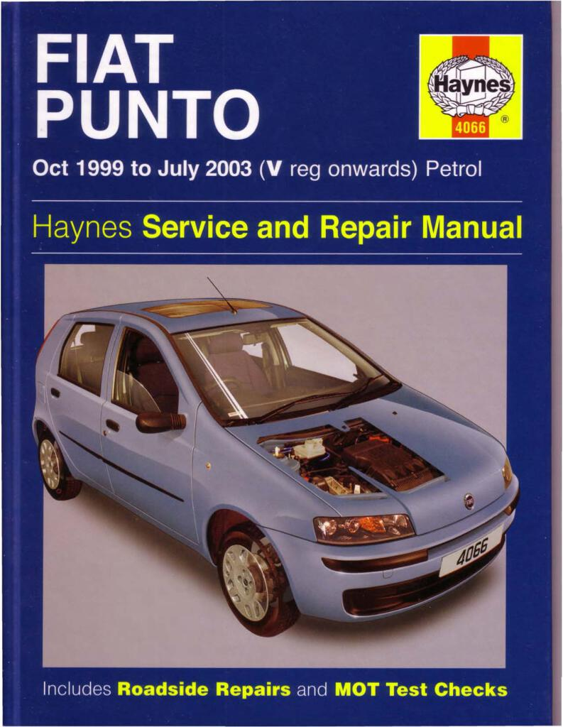 Punto Mk2 Haynes Service And Repair Manual Pdf  49 7 Mb